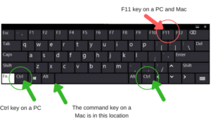 Keyboard Accessibility keys